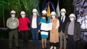 """Imagen de La Empresa Turística Mina de Sal de Nemocón recibió el sello de calidad """"Check in certificado"""""""
